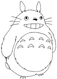 Small Picture Inspirational Totoro Coloring Pages 96 For Your Picture Coloring
