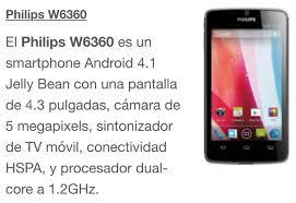 philips w6360 - Venta celulares ZN ...