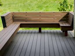 deck benches how to build a outside bench diy bench with backrest