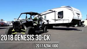 2018 genesis toy hauler. perfect hauler 2018 genesis supreme 30ck has 16u00271 to genesis toy hauler o
