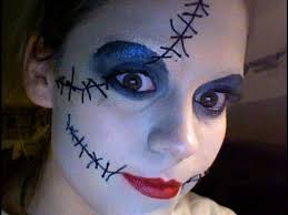 makeup tutorial sally nightmare before you