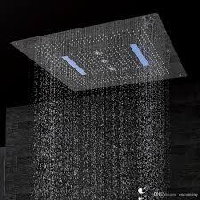 Großhandel Led Decken Duschkopf Aus Sus304 Größe 800x800mm Vier Funktionen Niederschlag Wasserfall Windung Vorhang Df5424 Von Cncoming 7799 Auf