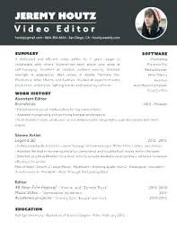 Production Resumes Video Resumes Samples Video Editor Resume Film Editor Resume Samples