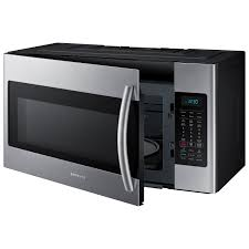 Best Over The Oven Microwaves Samsung Over The Range Microwave 18 Cu Ft Stainless Steel