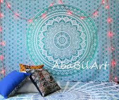 indian small ombrey mandala tapestry