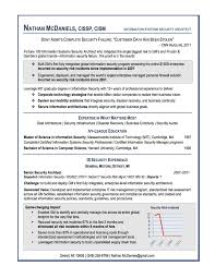 Resume Examples 10 Good Detailed Accurate Cv Profile Informations