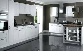 white kitchen cabinets grey walls off