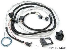 trailer tow wire harness kit for jeep wrangler mopar 82210214ab trailer tow wire harness kit