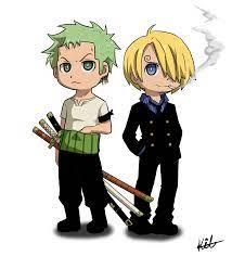 Chibi Zoro and Sanji by Kay-Jay97 on deviantART   Chibi, Manga anime one  piece, One piece anime
