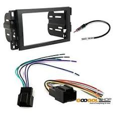 car stereo installation kits cache buick 2006 2011 lucerne car stereo dash install mounting kit wire harness radio antenna