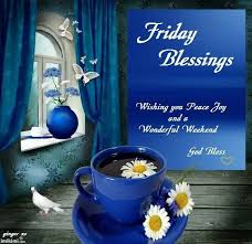 Friday, the last working day of the week, comes with a lot of excitement, fun and expectations. Friday Blessings Images With Coffee