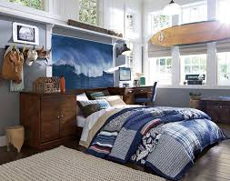 Teenage Guys Bedroom Ideas | Hawaiian-Inspired Bedding | PBteen