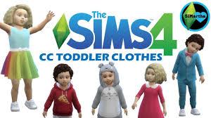 the sims 4 maxis match cc showcase toddler clothes 1 cc links