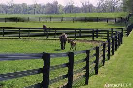 Black Vinyl Horse Fence Black Vinyl Horse Fence O Nongzico