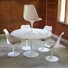 tulip table and chairs. 6pc EERO SAARINEN TULIP TABLE CHAIRS Lofty Marketplace Top Design Saarinen Table And Chairs Tulip Yadakdoon.com