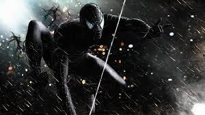 Black Spiderman 2560x1024 Resolution ...