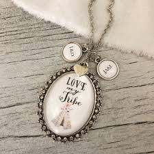 Kole Jax Designs Customer Service Love My Tribe Necklace With Optional Personalized Name Charms
