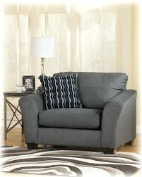 ashley furniture armchair furniture chair and a half armchair pillow