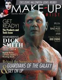 make up artist magazine issue 110 newsstand cover makeupmag