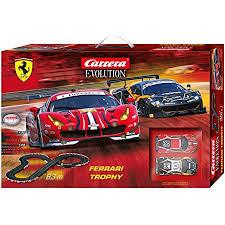 Carrera Evolution Ferrari Trophy 20025230 Racing Track Set Amazon De Spielzeug