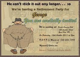 funny retirement invitations templates ctsfashion com retirement party invitations templates ideas invitations ideas