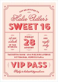 Party Invitations Sweet 16 Invitations Match Your Color Style Free Basic Invite