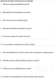 th th grade job shadow day observation forms observation form page 1