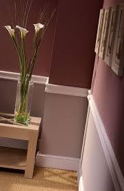 duas cores na parede rodapé vazado