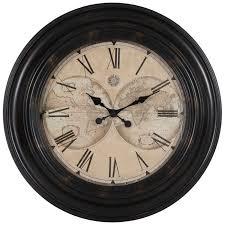 world map wall clock hobby lobby