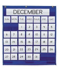 Pacon Calendar Weather Pocket Chart Pacon Monthly Calendar Pocket Chart
