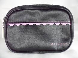 mary kay black pink makeup bag zippered we are not representatives or agents of