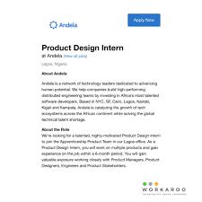 Product Design Intern Workaroo Hashtag On Twitter