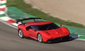 To develop a new kind of product that simply did not exist in the current ferrari range: The Ferrari P80 C Looks Wild Lapping Monza