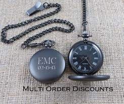 personalized gunmetal pocket watch monogrammed pocket watch personalized gunmetal pocket watch monogrammed pocket watch engraved pocket watch gifts for men