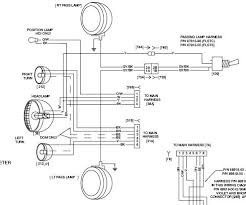 harley davidson wiring diagrams and schematics readingrat net Harley Headlight Wiring Harness classic harley the wire harness behind the headlight and pull, wiring diagram harley headlight wiring harness