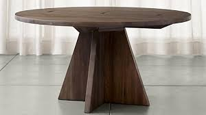 monarch shiitake 60 round dining table