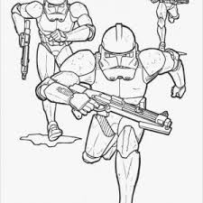 Stormtroopers Star Wars Coloring Pages Stormtrooper Printable Nazly