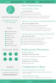 Front End Developer Resume Amazing 186 Aseefa Front End Developer And UX Designer Resume