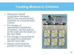 Cdi Module 6 Applying Cdi To Home Management Of Malaria