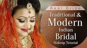 traditional and modern indian bridal indian bridal makeup tutorial