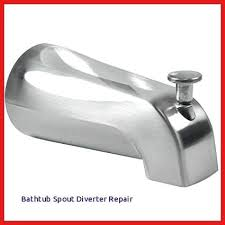 bathtub spout diverter repair delta tub shower diverter repair bathtub spout diverter repair