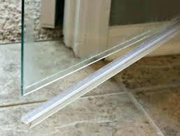 shower door seal framed replacement sweep bottom