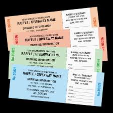 raffle ticket printing custom raffle tickets mines press picture of generic raffle tickets