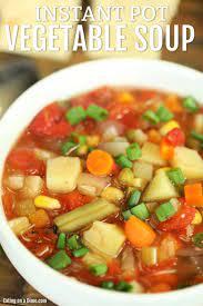 instant pot vegetable soup delicious
