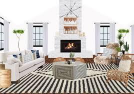 One Room Living One Room Three Budgets A Boho Living Room