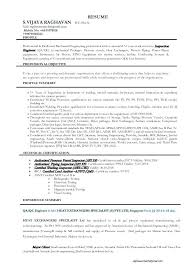 Welder Resume Examples Mesmerizing Welding Engineer Resume Inspection Resume Resume Format Inspector