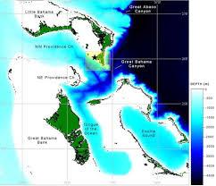 Bahamas Sea Depth Map Neaq Rolling Harbour Abaco
