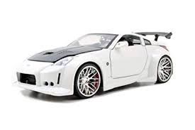 nissan 350z white. Perfect White Amazoncom Jada 2003 Nissan 350Z Z33 Bigtime Kustoms 124 Scale White  Toys U0026 Games For 350z White X