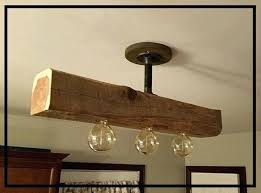 beam chandelier