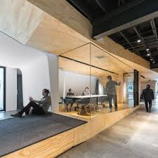 the creative office. Converted Warehouse Office By Domaen Features Sculptural Plywood Meeting Rooms The Creative D